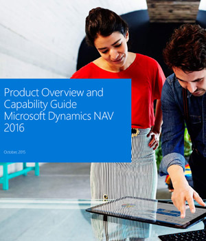 Microsoft Dynamics NAV 2016 Features